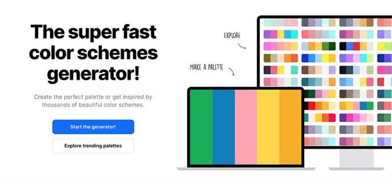配色工具-Coolors