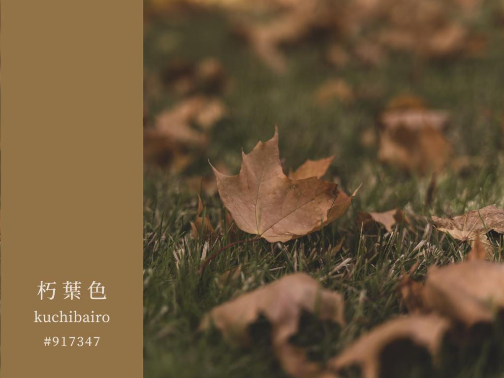 色見學-日本傳統色-朽葉色官網-朽葉色