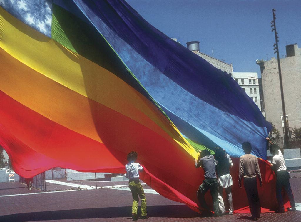 1978首面彩虹旗